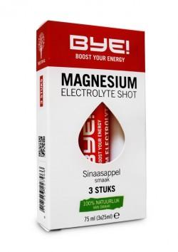 BYE Magnesium Shot - 3 x 75ml