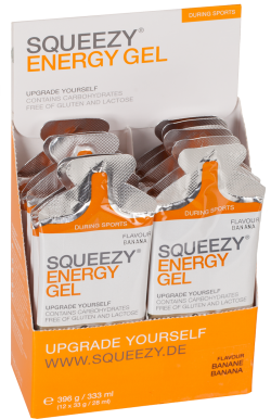 Squeezy Energy Gel - 12 x 33g