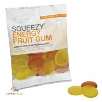 Squeezy Energy Fruit Gum 50 gram